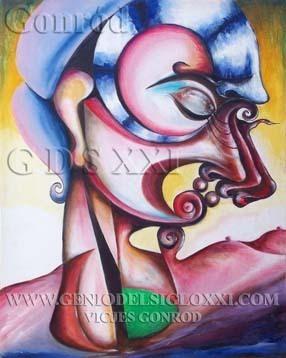 Arte inversión, invertir en arte contemporáneo y pintura española, invertir en arte y pintura española actual, Vicjes Gonród el Genio del Arte del siglo XXI