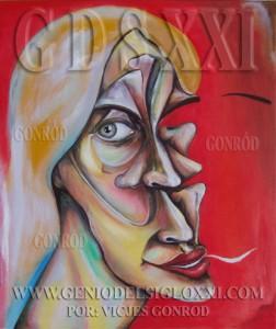 Spanish Painting, contemporary painting, contemporary art and painting in contemporary paintings of the XXI century art genius Vicjes Gonród