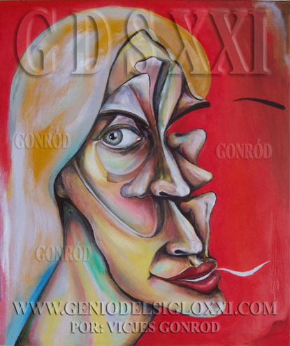 Buy Modern Paintings Online, Modern Art Online, spanish Vicjes Gonród. www.GeniodelSigloXXI.com