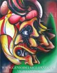 Pintura óleo del artista Vicjes Gonród genio del arte del siglo XXI
