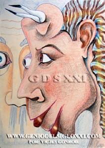 Dibujos actuales del Genio del Arte del Siglo XXI Vicjes Gonród, coleccionar dibujos, dibujante, creador, dibujo contemporaneo, dibujos modernos, venta dibujos