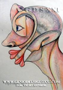 Dibujos actuales del Genio del Arte del Siglo XXI Vicjes Gonród, coleccionar dibujos, dibujante, creador, dibujos baratos, dibujos contemporaneos, venta dibujos