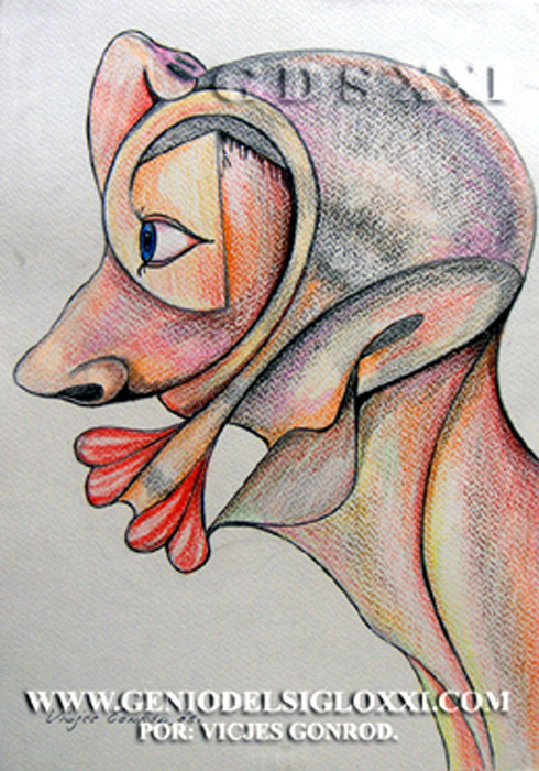 Dibujos actuales del Genio del Arte del Siglo XXI Vicjes Gonród, coleccionar dibujos, dibujante, creador, dibujos baratos, dibujos contemporaneos, compra venta dibujos, España