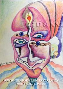 Dibujos modernos del Genio del Arte del Siglo XXI Vicjes Gonród, coleccionar dibujos, dibujante, creador, dibujos baratos, vendo dibujos contemporaneos