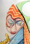 Vicjes Gonród, dibujo moderno, dibujos actual, compra venta de dibujos, coleccionismo dibujos contemporaneos, dibujar, Genio del Arte del Siglo XXI, España