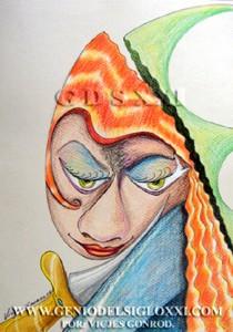 Vicjes Gonród, dibujo moderno, dibujos actual, compra venta de dibujos, coleccionismo dibujos contemporaneos, dibujante, dibujar, Genio del Arte del Siglo XXI
