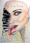 dibujo moderno, dibujos actual de Vicjes Gonród el Genio del Arte del Siglo XXI, coleccionar dibujos contemporaneos, dibujante, dibujar, compra venta de dibujos, España