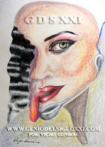dibujo moderno, dibujos actual de Vicjes Gonród el Genio del Arte del Siglo XXI, coleccionar dibujos contemporaneos, dibujante, dibujar, venta de dibujos