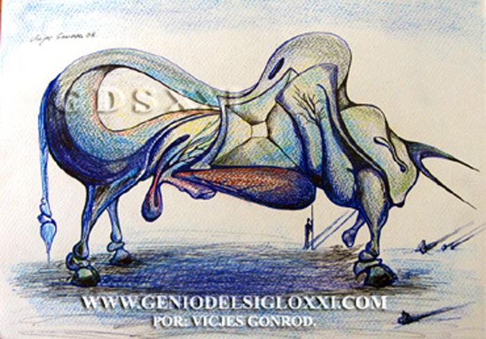 dibujos modernos de Vicjes Gonród Genio del Arte del Siglo XXI, dibujante, dibujar, dibujo actual, coleccionismo, dibujos contemporaneos, venta de dibujos, España