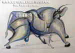 dibujos modernos de Vicjes Gonród, dibujante, dibujar, dibujo actual, coleccionismo, dibujos contemporaneos, compra de dibujos, Genio del Arte del Siglo XXI, España