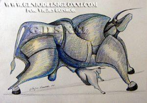 dibujos modernos de Vicjes Gonród, dibujante, dibujar, dibujo actual, coleccionismo, dibujos contemporaneos, compra venta de dibujos, Genio del Arte del Siglo XXI