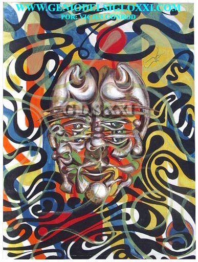 The artistic geniuses of today and the genius of art of the 21st century GONRÓD. Expressionist painters, artists surrealistic ones, art investment, invest in contemporary art, spanish painting. VICJES GONRÓD