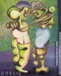pintura Oleo de Vicjes Gonród el genio del arte del siglo XXI ,