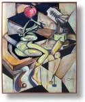 pintura Oleo de Vicjes Gonród el genio del arte del siglo XXI   ..