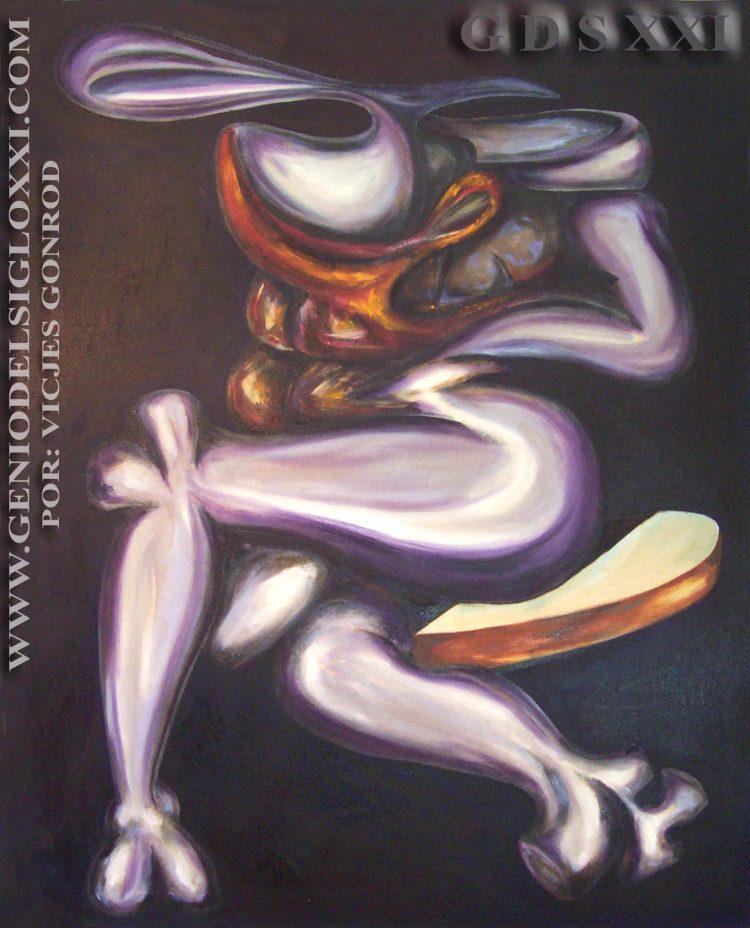 spanish art contemporary painting, 21st contemporary art xxi, artistes espagnols peintres. VICJES GONRÓD The 21st Century Art Genius Spain.