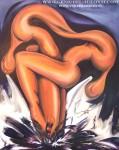 pintura Oleo de Vicjes Gonród el genio del arte del siglo XXI,