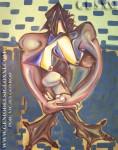 pintura Oleo de Vicjes Gonród el genio del arte siglo XXI
