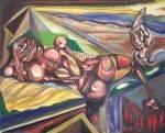 Arte contemporáneo en venta, arte moderno emergente, pintores contemporáneos emergentes de España Vicjes Gonród el Genio Del Arte del siglo XXI