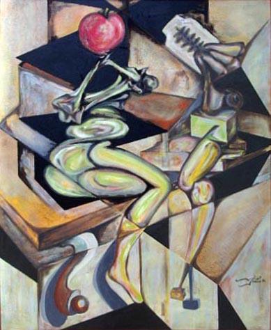 Invertir en arte contemporáneo de un genio Vicjes Gonród el Genio Del Arte del siglo XXI