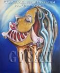 los genios del arte. Inversión en arte actual, artistas pintores, invertir en arte. VICJES GONRÓD El genio del arte del siglo XXI España