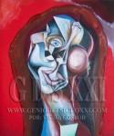 Inversión artística, potencial inversión en arte por GONRÓD. Pintura española, compra pintura moderna emergente, pintores contemporáneos. VICJES GONRÓD El genio del arte del siglo XXI España