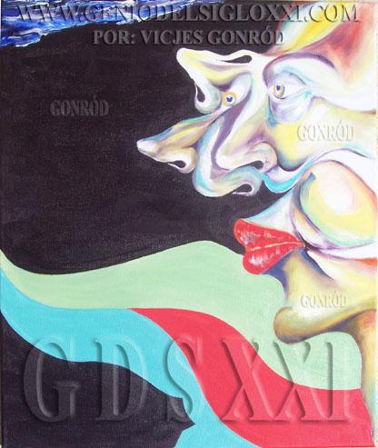 Los genios artísticos de hoy y el genio del arte del siglo XXI GONRÓD. Pintores expresionistas, artistas surrealistas, inversión en arte, inversión en arte contemporáneo. VICJES GONRÓD El genio del arte del siglo XXI España.
