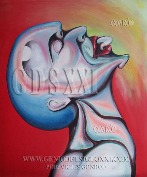 pintura moderna emergente, pintores contemporáneos emergentes. Inversión actual en el art. VICJES GONRÓD El genio del arte del siglo XXI España.